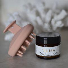 Brosse de massage de cuir chevelu pink Bonet et Bonet