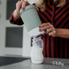 Milk dispenser galactic green Philley