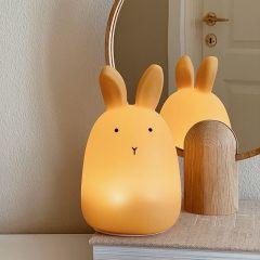 Lampe veilleuse winston rabbit yellow mellow Liewood