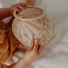 Rattan egg basket Olli Ella