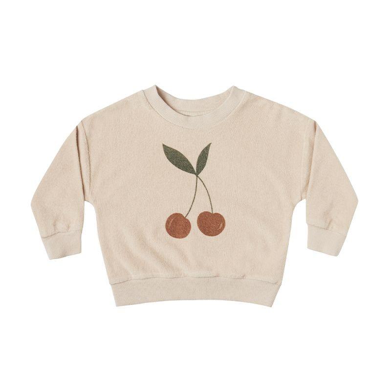 Cherry crew neck sweatshirt Rylee and Cru