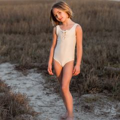 Maillot de bain à lacets shell Rylee and Cru