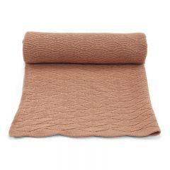 Pointelle cotton blanket brush Konges Slojd