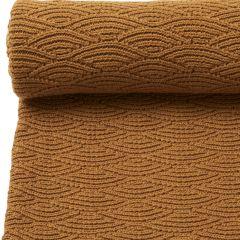 Pointelle cotton blanket dijon Konges Slojd