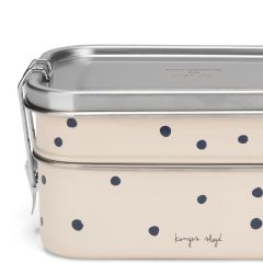 Lunchbox ocean blue dot Konges Slojd