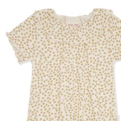 Chleo short sleeve onesie body buttercup yellow Konges Slojd