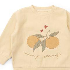 Lou sweatshirt apricot Konges Slojd