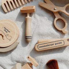 Wooden barber set Konges Slojd
