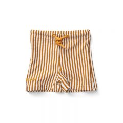 Otto swim pants seersucker stripe mustard