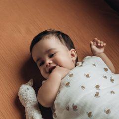 Drap housse pour matelas bébé nut Bonjour Little