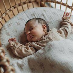 Baby blanket pansies Bonjour Little