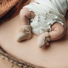 Housse pour matelas à langer nude Bonjour Little