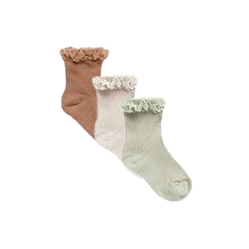 Lot de 3 paires de chaussettes à dentelle Rylee and Cru