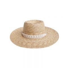 Ribbon wide brim hat Rylee and Cru