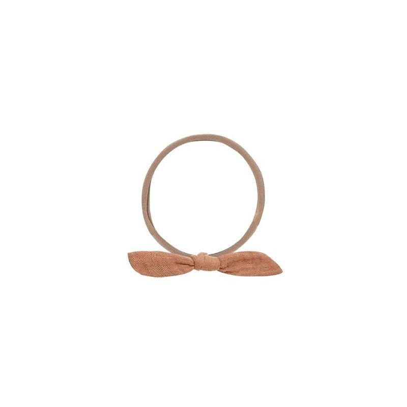 Headband noeud terracotta Rylee and Cru