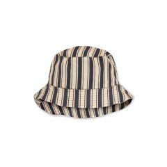 Chapeau bob verbena stripe navy Konges Slojd