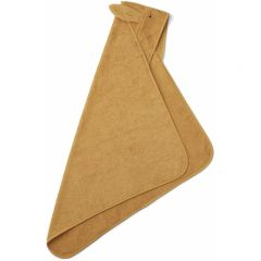 Albert hooded junior towel rabbit mustard Liewood