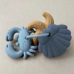 Jouets de dentition tonk bleu Liewood