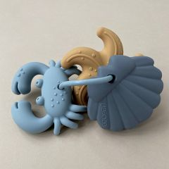 Tonk mini teether 3 pack blue Liewood