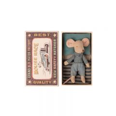 Little brother mouse in box Maileg