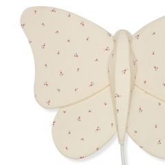 Butterfly fabric lamp bloom red blue Konges Slojd