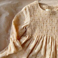 Zalie sleeve dress mandarin Konges Slojd