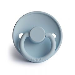 Classic silicone pacifier baby blue Frigg