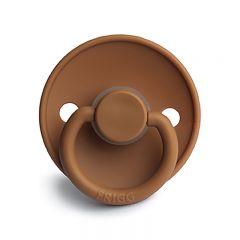 Classic silicone pacifier cappuccino Frigg