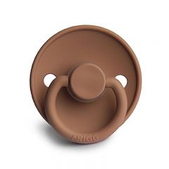 Classic silicone pacifier peach bronze Frigg
