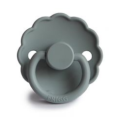 Daisy silicone pacifier French gray Frigg