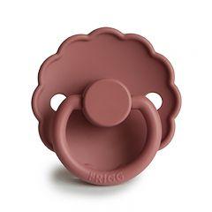 Daisy silicone pacifier powder blush Frigg