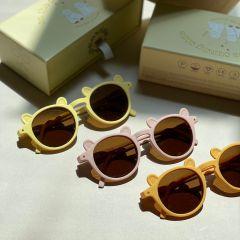 Lunettes pour bébé vanilla yellow Konges Slojd