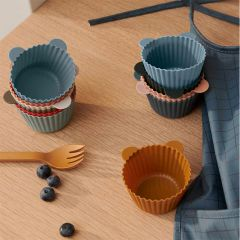Jerry cake cup 12 pack green multi Liewood