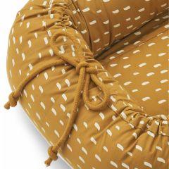 Nid portable gro stroke golden caramel Liewood