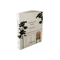 Livre d'illustrations animals at home Garbo and friends