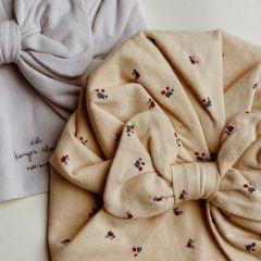 Lot de 2 turbans bambi bloom lavendar mist Konges Slojd