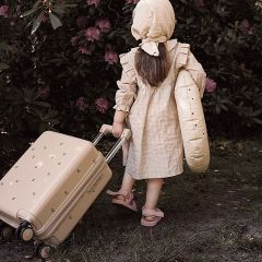 Travel suitcase cherry Konges Slojd