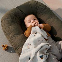 Edward baby nest khaki Liewood