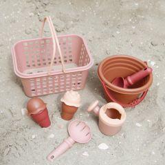Set de plage rose VanPauline