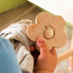 Wooden rattle Marguerite KMR childwood