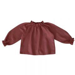 Nala blouse light mahogany Liilu