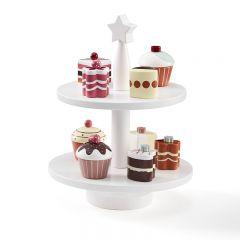 Lot de 9 patisseries cupcakes bistro Kid's Concept