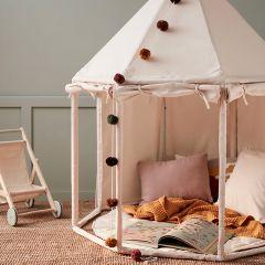Tente pavillon en toile off-white Kid's Concept