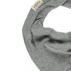 Bavoir bandana dry gris chiné MarMar Copenhagen