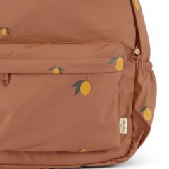 Rain kids backpack mini deux lemon brown Konges Slojd