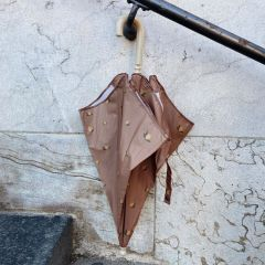 Kids umbrella citrons marron lemon brown Konges Slojd