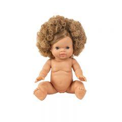 Blonde curly gordi doll anais Minikane