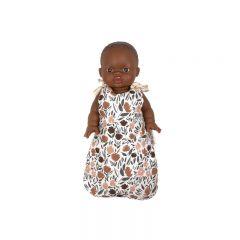 Cotton sleeping bag for zelda doll Minikane