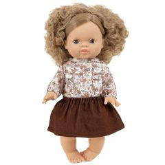 Doll clothes set lili automne clair Paola Reina