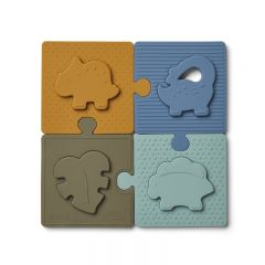 Bodil puzzle dino blue multi mix Liewood